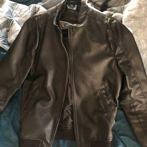 Men's Zara Leather Jacket - size small